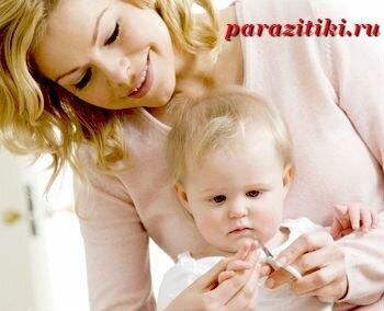 профилактика энтеробиоза у детей