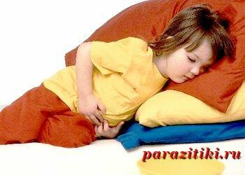 симптомы аскарид у детей